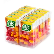 Tic Tac Passion Fruit - Cherry Dispensers - 24CT