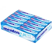 Mentos Sugar Free Two Layers Gum - Mint