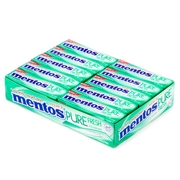 Mentos Sugar Free Two Layers Gum - Spearmint