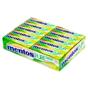 Mentos Sugar Free Two Layers Gum - Melon Lemonade