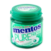 Mentos Pure Fresh Sugar Free Gum - Spearmint 6CT