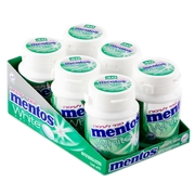 Sugar Free Mentos Pure Fresh Spearmint Gum Tubs - 6CT