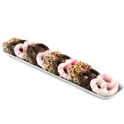 Baby Girl Chocolate Hammered Pretzel Tray