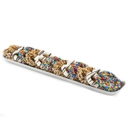 Rainbow Chocolate Hammered Pretzel Tray
