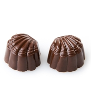 Hand Made Double Chocolate Parve Chocolate Truffles - 12 CT Box
