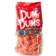 Orange Dum Dum Pops - 75CT