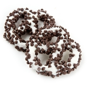 White Chocolate Covered Pretzels with Chocolate Chips