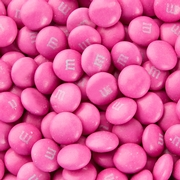 Dark Pink M&M's Chcocolate Candies