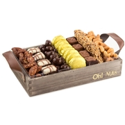 Wooden Chocolate & Nuts Line Up - Medium