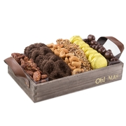 Wooden Pretzels & Nuts Line Up - Medium