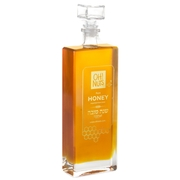 Stylish Large Square Honey Bottle - 25oz