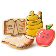 Rosh Hashanah Decorative Cookies Favor