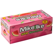 Mike & Ike Jelly Candy - Sour Watermelon - 24CT Box