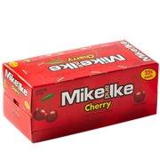 Mike & Ike Jelly Candy - Cherry - 24CT Box