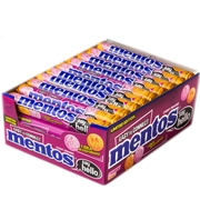 Mentos 'Say Hello' Candy Rolls - 40CT Case