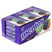 Mentos 3D Sugar Free Gum - Blackberry, Kiwi & Strawberry - 15CT Box