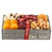 Wooden Dried Fruit & Nuts Line Up - Small