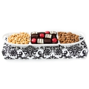 Oval Handle Ceramic Gift Tray
