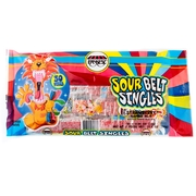 Strawberry Sour Belts Singles - 10.5oz Bag