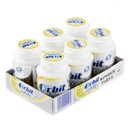 Orbit Sugar-Free White Fruit Gum Tabs - 6CT Jars