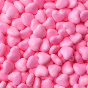 Pink Heart Pressed Candy - 2LB Bag