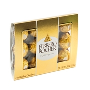 Ferrero Rocher Chocolate Truffle Gift Box - 12 Pc.