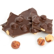 Dark Chocolate Hazelnut Bark