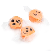 Orange Licorice Halloween Salt Water Taffy