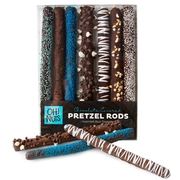 Baby Boy Chocolate Covered Pretzel Rods Gift Box