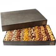 XL Nuts Large Selection Wooden Gift Tray