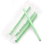 Green Reception Candy Sticks - Mint