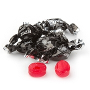 Zaza Mini Black Foil Hard Candy - Black Cherry
