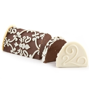 Hand Crafted Praline Chocolate Log