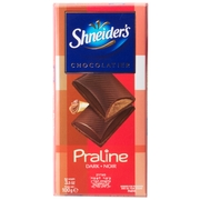 Shneider Praline Dark Chocolate Bar