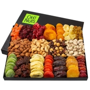 Oh! Nuts Holiday Nut & Dried Fruit 18 Variety Gift Basket