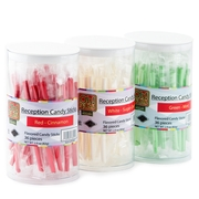 Holiday Mix Reception Candy Sticks