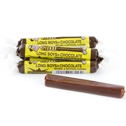 Long Boy Chocolate Taffy Candy Sticks