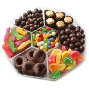 Passover 7 Section Chocolate & Candy Platter