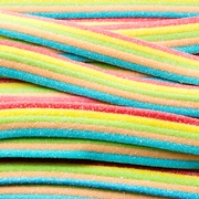 Rainbow Sour Belts - 3.3 LB Box