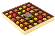 36-Piece Marzipan Fruit Gift Box