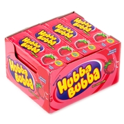 Hubba Bubba Strawberry Bubble Gum - 20CT Box