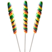 10-Inch Rainbow Unicorn Pops - 6CT