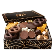 Oh! Nuts Gourmet Chocolate Square Gift Tin