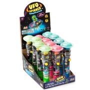 UFO Spinner Flashing Lollipops - 12CT