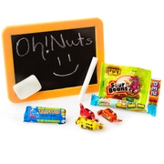 Purim Kids Blackboard Gift Basket Shalach Manos - 8 Pack