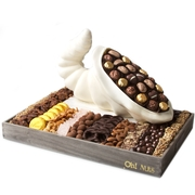 Cornucopia Basket White Chocolate
