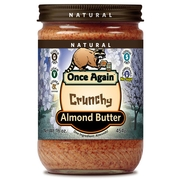 Crunchy Roasted Almond Butter