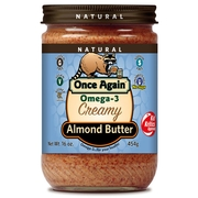 Omega-3 Smooth & Creamy Roasted Almond Butter