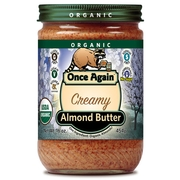Organic Creamy Raw Almond Butter