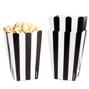 Black Popcorn Box - 5CT